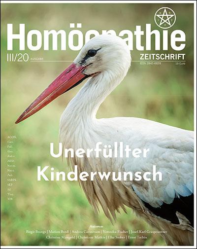Homöopathie Zeitschrift III/2020 - Kinderwunsch