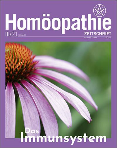 Homöopathie Zeitschrift September 2021